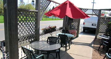 Outdoor Patio Seating | Events
